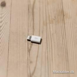 MicroUSB til Lightning-tilkobling