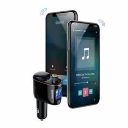 FM Afsender m. Bluetooth & Fjernbetjening FM Transmitter