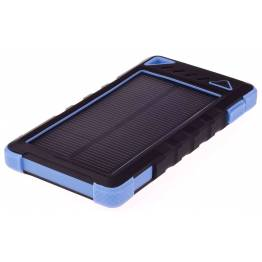 GreyLime strøm bank med photovoltaic 8000mAh batteri 1, 2W photovoltaic