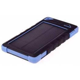 GreyLime strøm bank med photovoltaic 8000mAh batteri 1, 2W photovoltaic