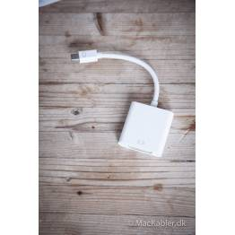 Mini DisplayPort til DVI-adapter