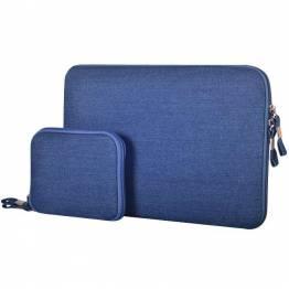 """Premium Macbook Fodral I blå til Mac's i 13"""""""