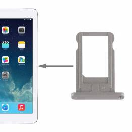 "iPad Air 2/Pro 9,7"" SIM tray I Alu Sort/hvid/sølv"