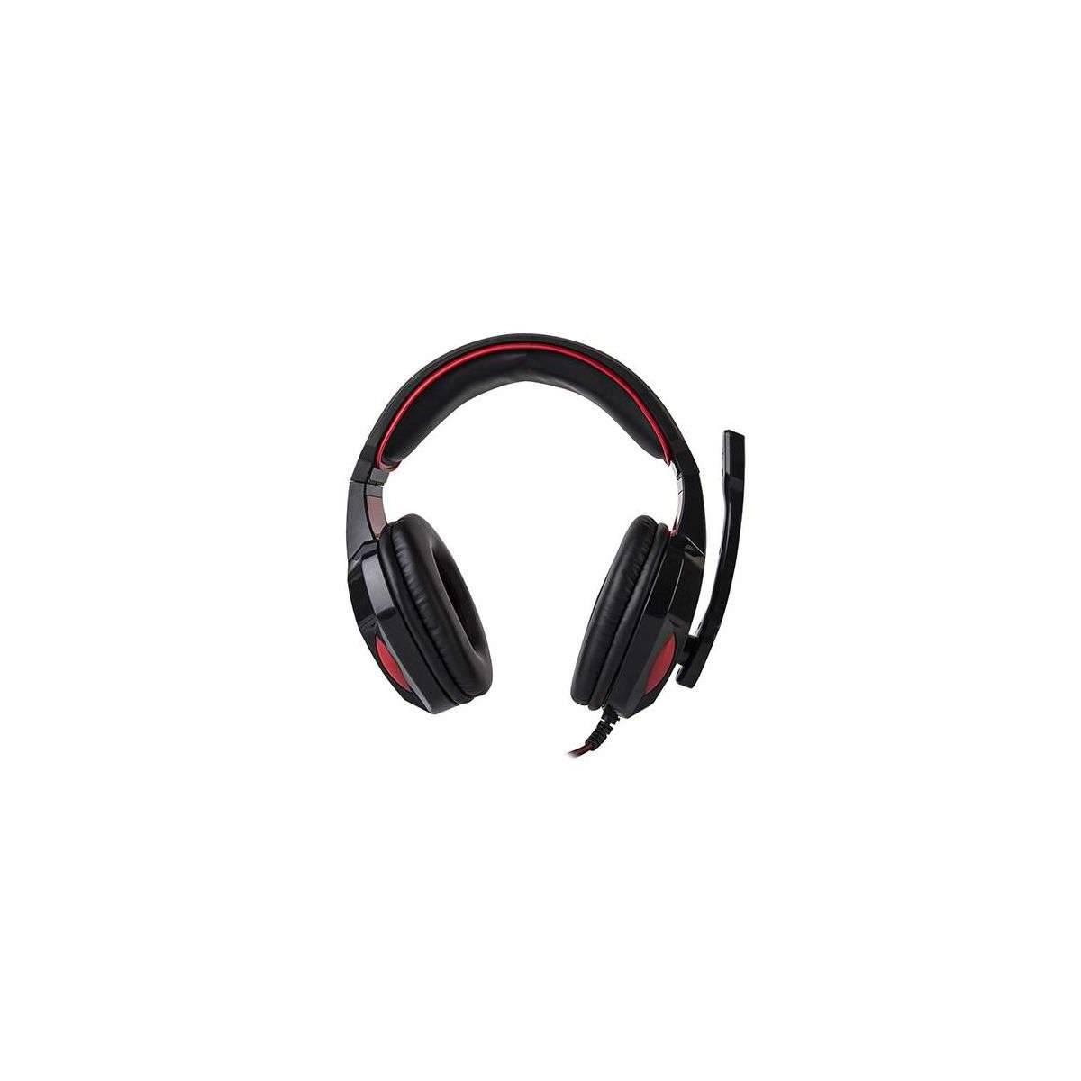 Scorpion HG8802 Gaming Headset svart og rødt med mic