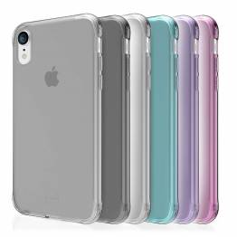ITSKINS Slim silikon Protect gel iPhone XR deksel dobbel 2x pakke