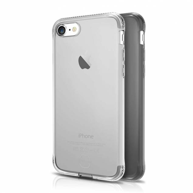ITSKINS Slim silikon Protect gel iPhone 7 & 8 pluss deksel dobbel 2x pakke