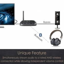 Avantree Oasis Plus Bluetooth lydmottaker og sender