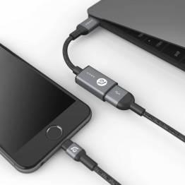 Adam Elements CASA F13 USB-C til USB-A adapter Grå/Rosegold/Guld