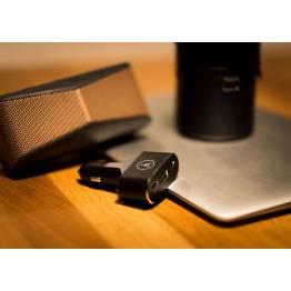 LIFEPower 96W billader USB-C PD & QC 3,0 USB svart