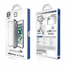 ITSKINS gel cover iPhone 6/6S/7/8 pakke med 2pcs