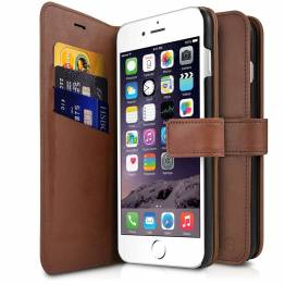 ITSKINS bokomslag og bakdeksel i ett for iPhone 6/6S/7/8 Brown