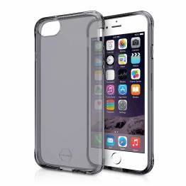 ITSKINS gel cover iPhone 7/6/6S/8 gjennomsiktig svart