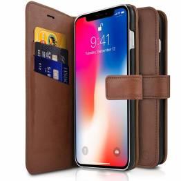 ITSKINS bokomslag til iPhone X/XS. Brown