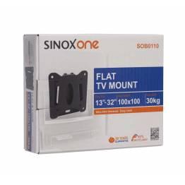 """Sinox en SOB0105 TV veggbrakett. Svart TV størrelse: 13 """"-22"""""""