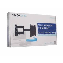 """Sinox en SOB0105 TV veggbrakett. Svart TV størrelse: 23 """"-42"""""""