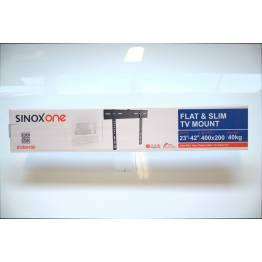 """Sinox en SOB0450 TV veggbrakett. Svart TV størrelse: 23 """"-42"""""""