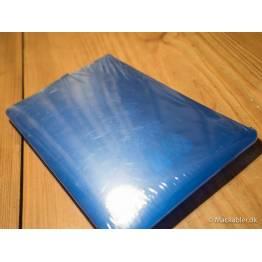 MacBook hard hud blå