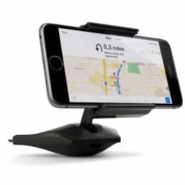 Satechi Universal Mobile holder-montert i åpningen til bilen CD-spiller!