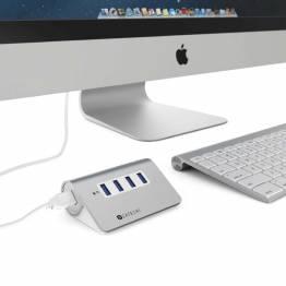 Satechi USB 3,0-hub av aluminium-4 porter
