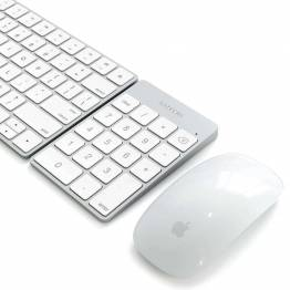 Satechi Slim Wireless Keypad - Rechargeable Aluminum Bluetooth Keypad
