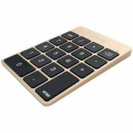 Satechi Slim trådløst tastatur-oppladbart Aluminum Bluetooth tastatur