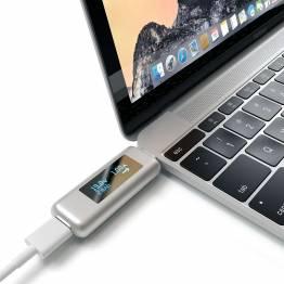 Satechi USB-C strømmåler