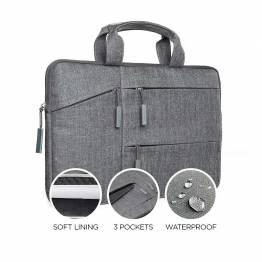 """Satechi vannavstøtende laptop bære deksel med lommer 13 """"og 15"""" 13 """""""