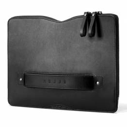 Mujjo Carry-On Folio Sleeve for 12 -tommer MacBook, Black