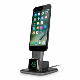 Tolv Sør HiRise Duet-kombinerte Ladestativ for iPhone og Apple watch