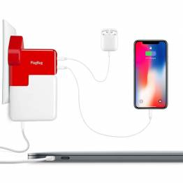 Tolv Sør PlugBug Duo-superlade din MacBook Charger