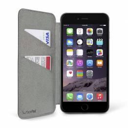 Tolv Sør SurfacePad for iPhone 7 addisjonstegn & iPhone 8 addisjonstegn-Razor spinkle nappa læret