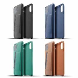 Mujjo full Lær lommebok deksel til iPhone 11 Pro Max