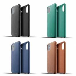 Mujjo læder cover til iPhone 11R