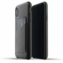 Mujjo full Lær lommebok deksel-lommebok deksel ekte skinn til iPhone X/XS