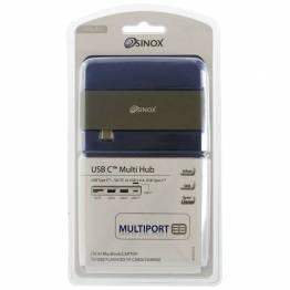 Sinox iMedia USB-C 5-in-1 hub SD, MicroSD, USB og USB-C hun