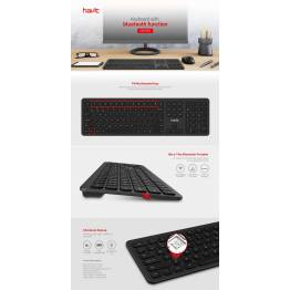 Havit Proline trådløs BT tastatur Nordic Layout (m. æøå)