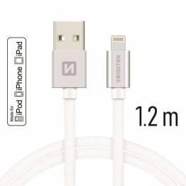 RAVPower Kevlar 0, 9m USB til Lightning MFi nylon garn kabel