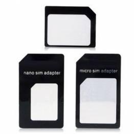 Noosy SIM-kort adapter (nano, micro & alm.)