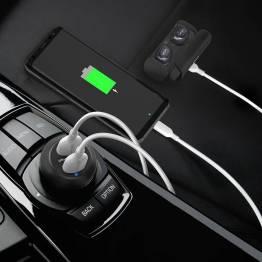 Amber Power 2x USB bil lader W. 40W USB-lading