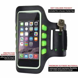 "Sinox Sports Løbearmbånd til iPhone op til 5,8"""