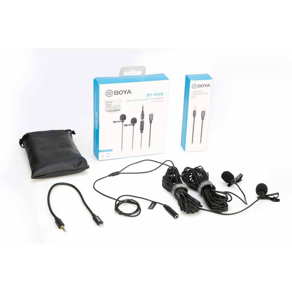 Klips mikrofon for iPad Pro og Mac med USB C fra BOYA
