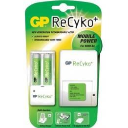 GP opladelig AA batterier 2100mAh 2stk