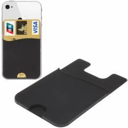 Smart lommebok silikon kort holderen