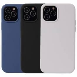 """Lækkert iPhone 12 silikone cover 6,1"""" flere farver"""