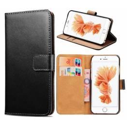iPhone læder cover kortholder