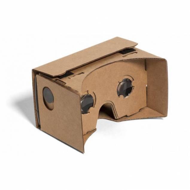 Google Cardboard med linser