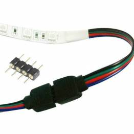 4 pin LED strip splitter connector (RGB)