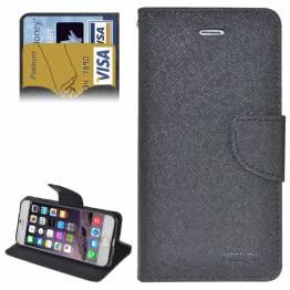 iPhone 6/6+ cover med pung og kortplads
