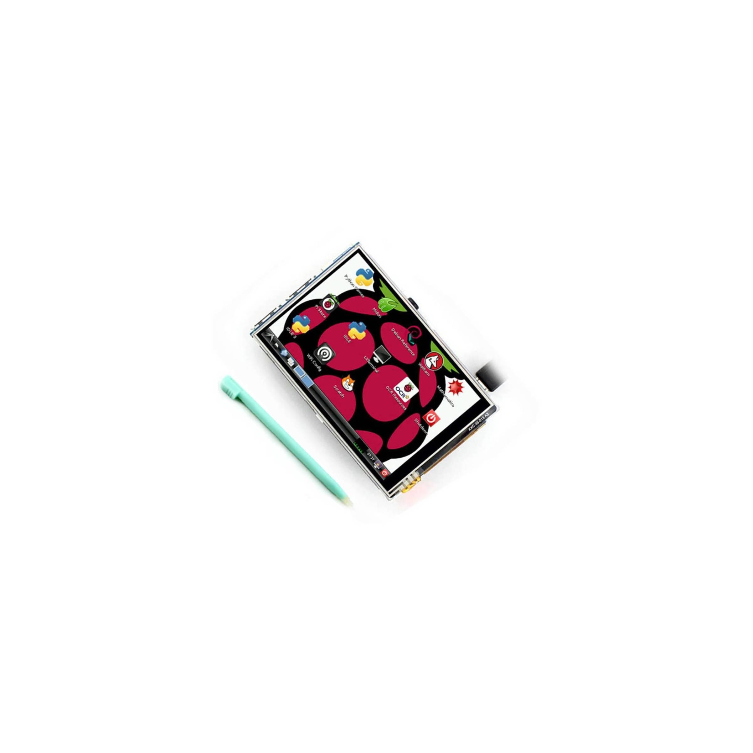 Bilde av 3,5 Tommer Lcd Tft Touchscreen Display Med Stylus Til Raspberry Pi