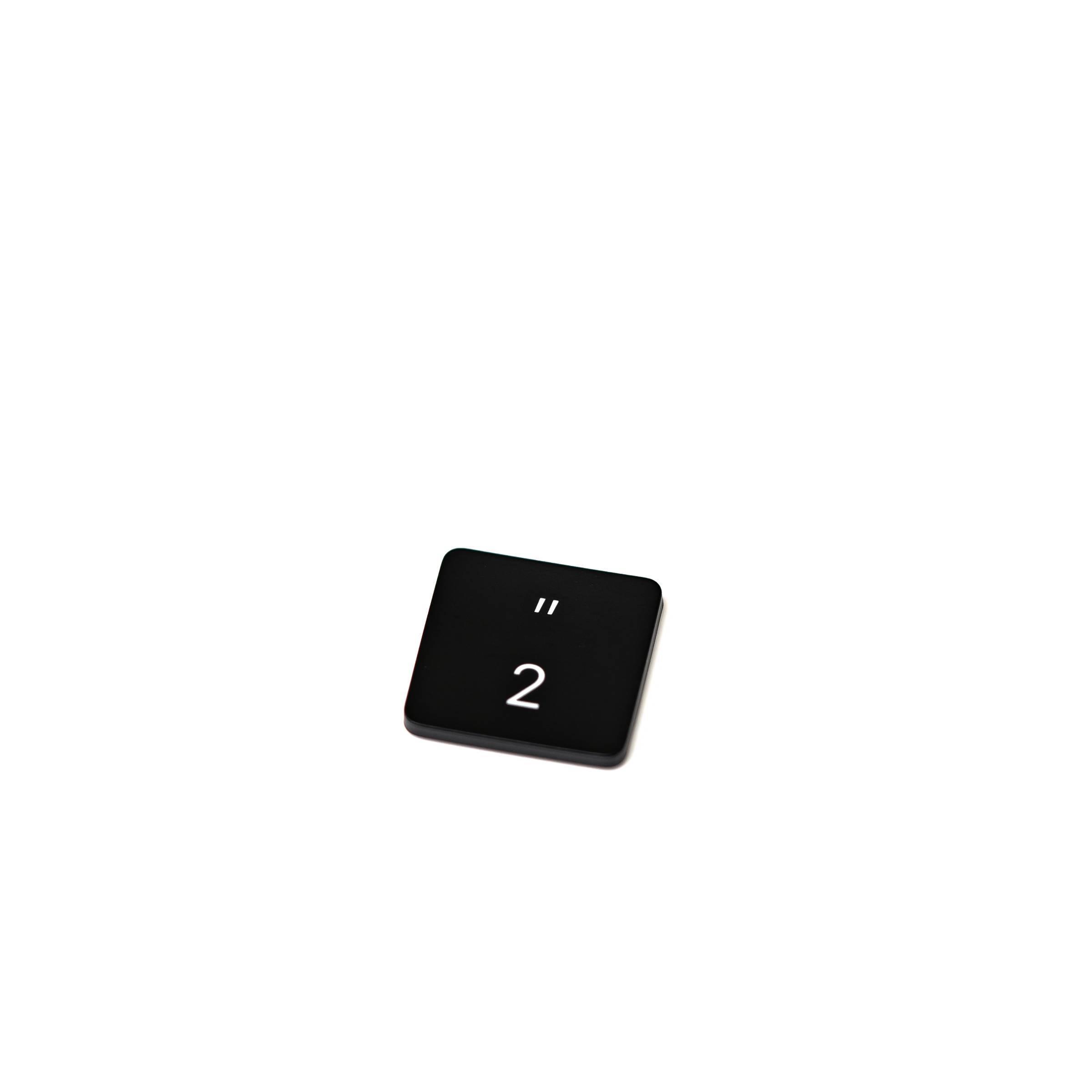 Bilde av 2 Og Citationstegn Knap Til Macbook - Dk Layout